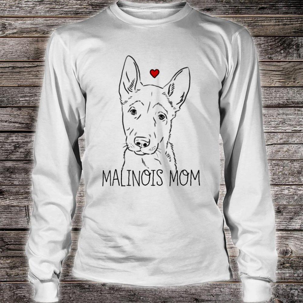 Malinois Mom Shirt long sleeved