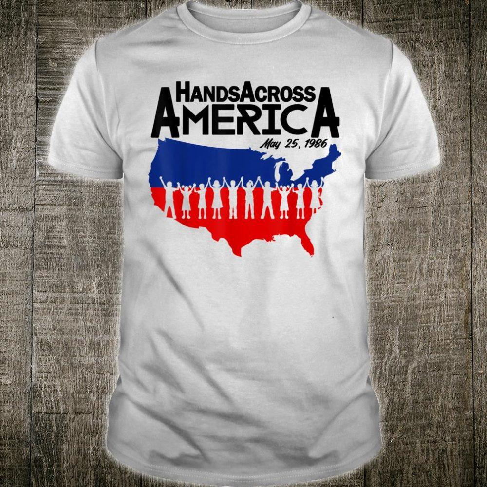 Mens Hands Shirt Across America Shirt