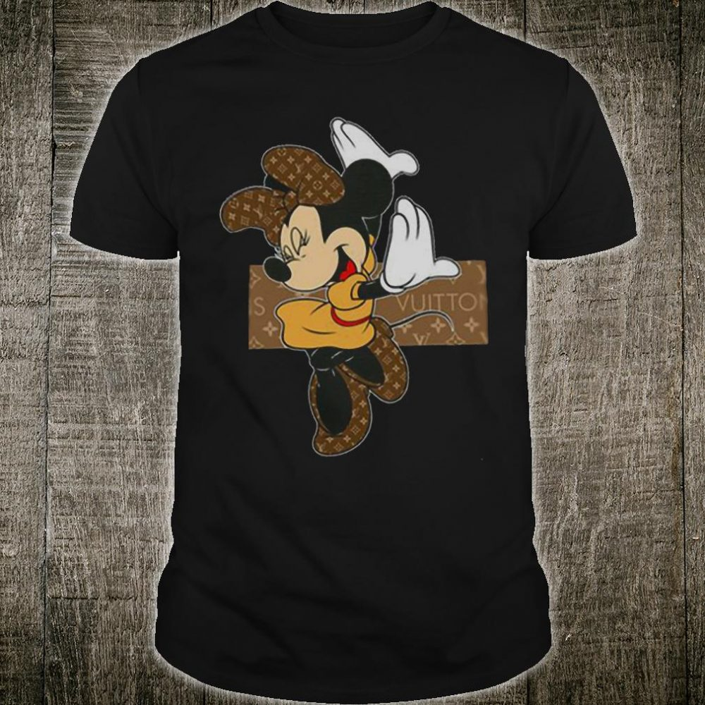 Minnie mouse LV shirt