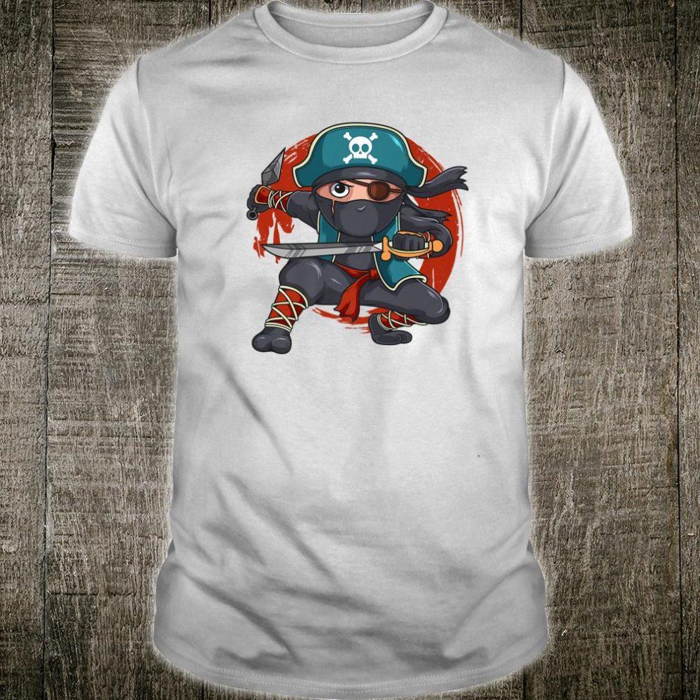 Pirate Ninja Birthday Party Costume Halloween Shirt
