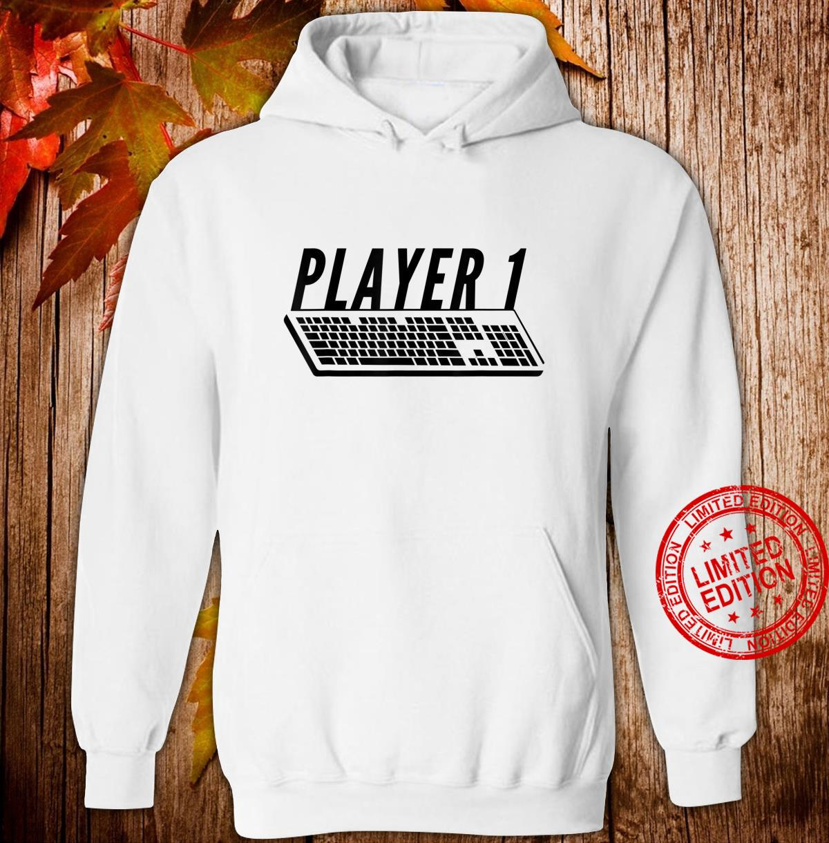 Player 1 PC Gamer Master Race For Gamer Couples Shirt hoodie