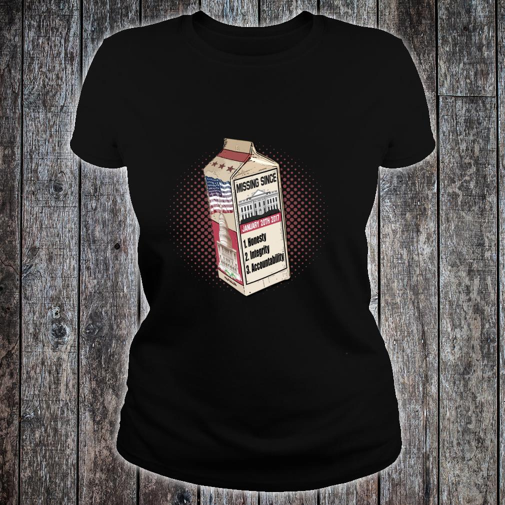 Traits missing in are President. Shirt ladies tee