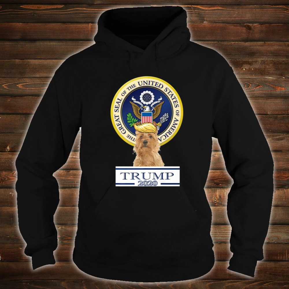 Trump Dog 2020 Australian Terrier Shirt hoodie