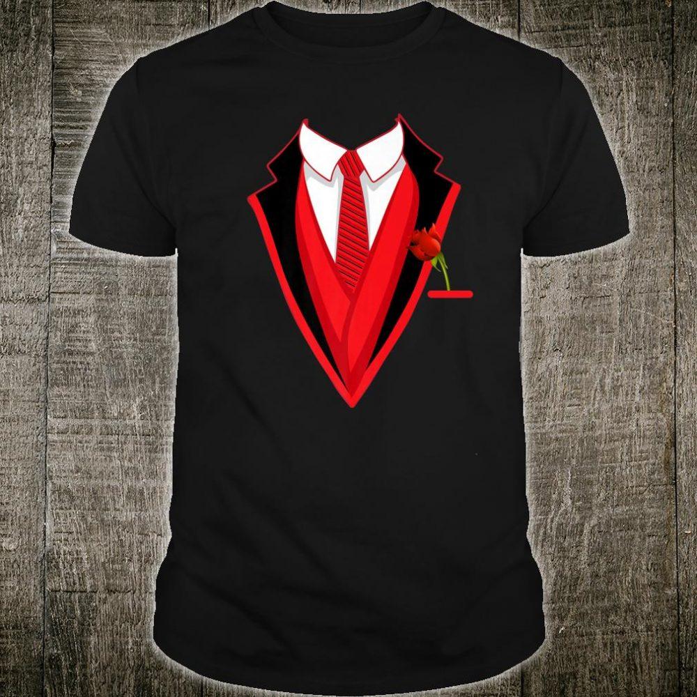 Valentine's Tuxedo Cute Valentine Coat Shirt