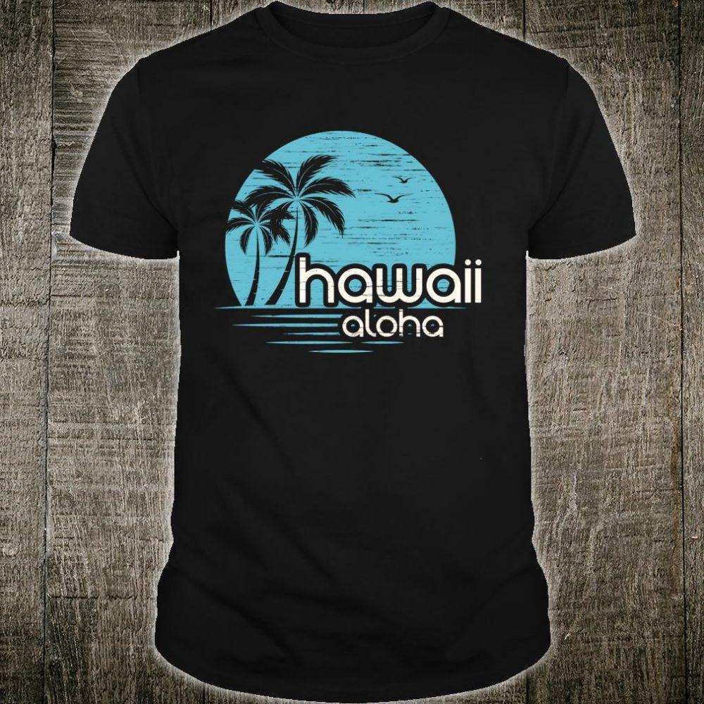 Vintage Aloha Hawaiian Shirt Vacation Hawaii Luau Costume Shirt
