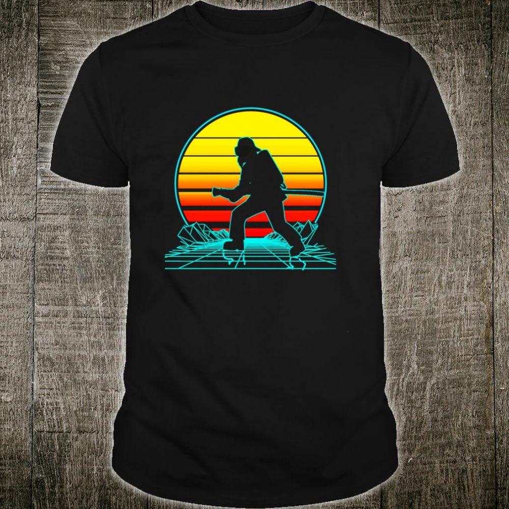 Vintage Firefighter Vaporwave Shirt