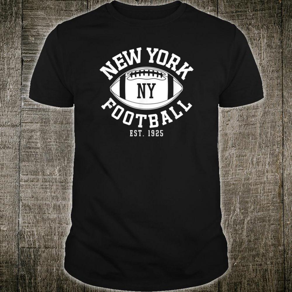 Vintage New York Football NYG Retro Giant Shirt