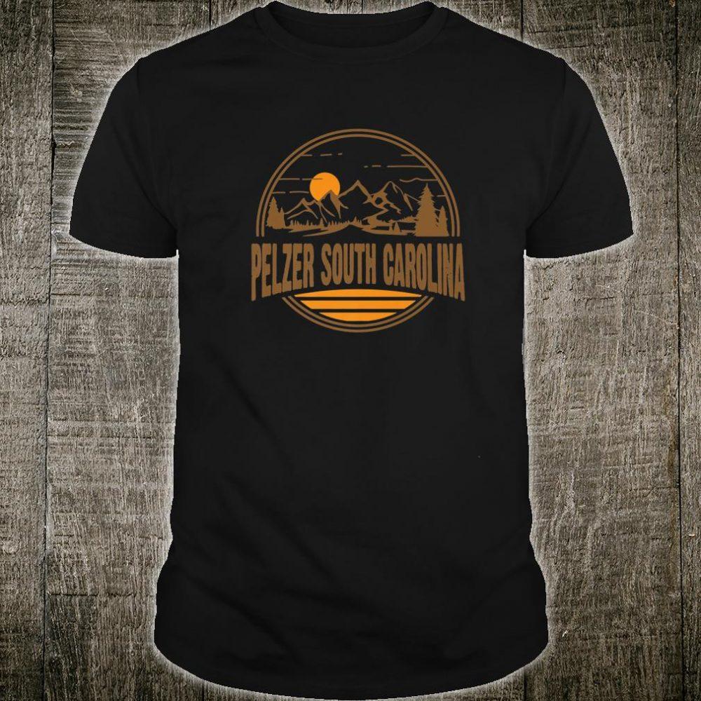 Vintage Pelzer, South Carolina Mountain Print Shirt