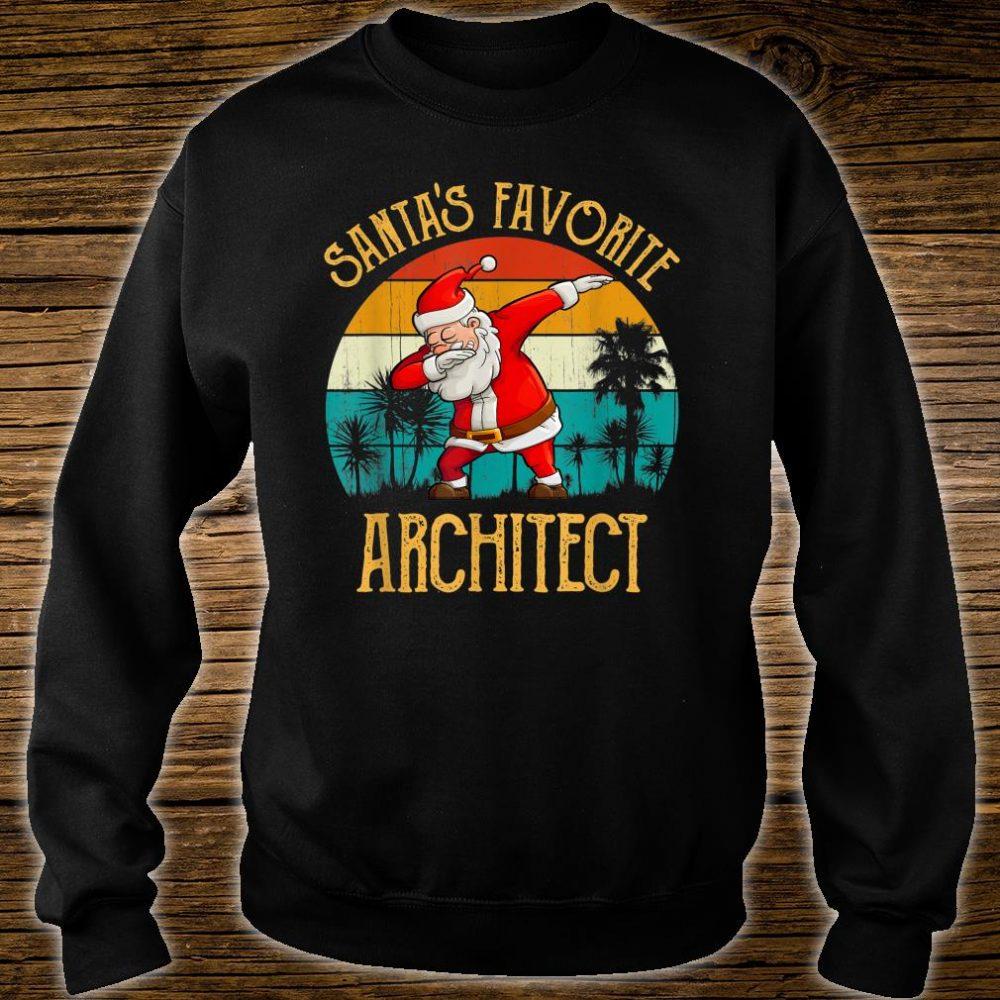 Vintage Santa's Favorite ARCHITECT Matching Family Christmas Shirt sweater