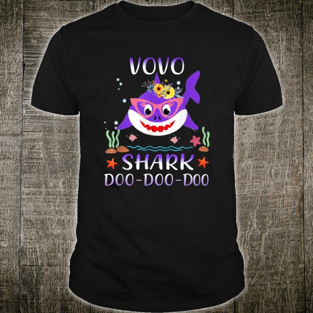 Vovo Shark Doo Doo Shirt Matching Family Shark Shirt