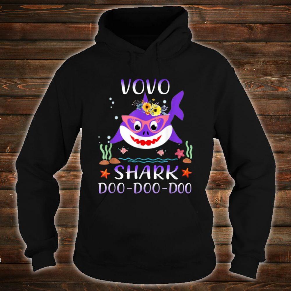 Vovo Shark Doo Doo Shirt Matching Family Shark Shirt hoodie