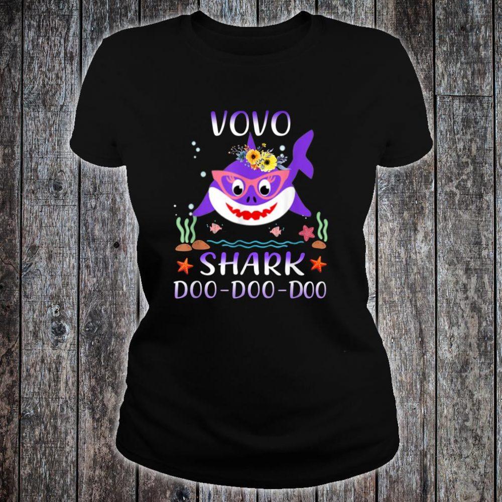 Vovo Shark Doo Doo Shirt Matching Family Shark Shirt ladies tee