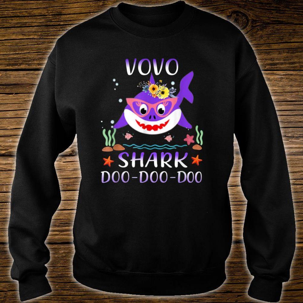 Vovo Shark Doo Doo Shirt Matching Family Shark Shirt sweater
