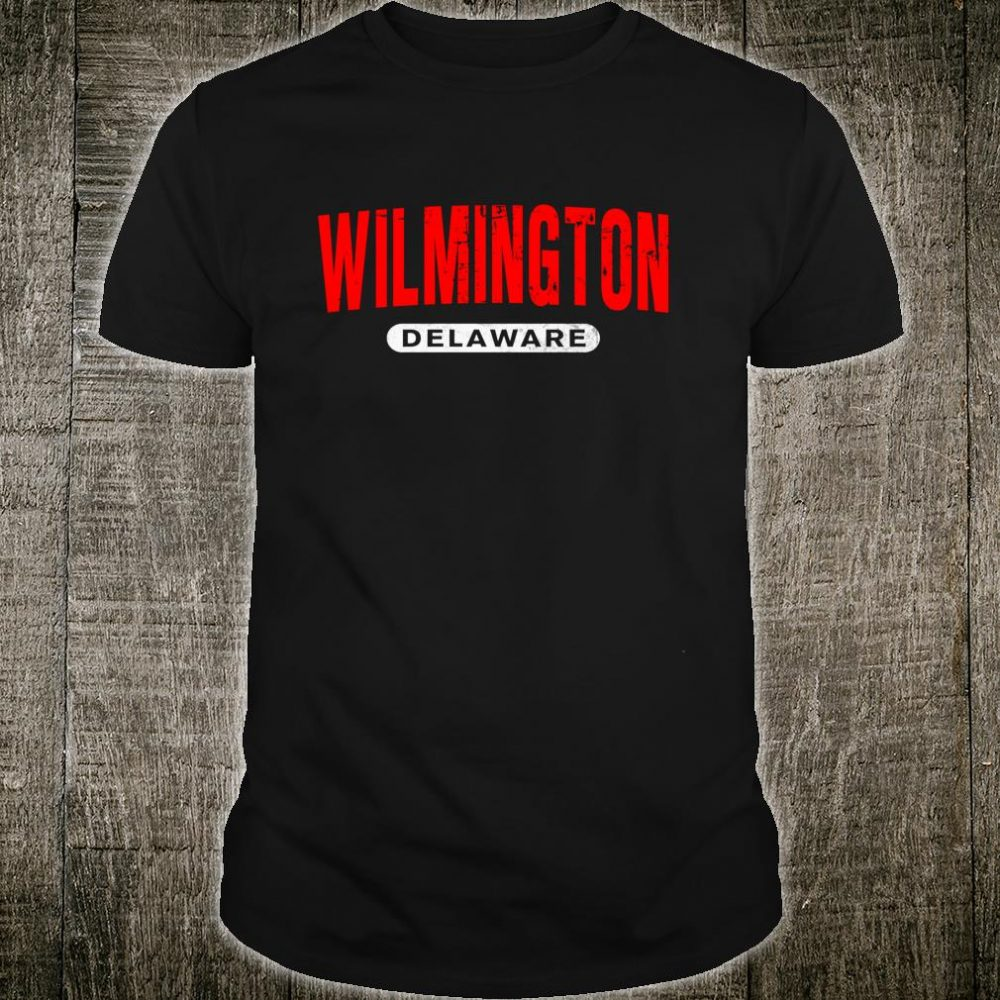 WILMINGTON DE DELAWARE USA City Roots Vintage Shirt