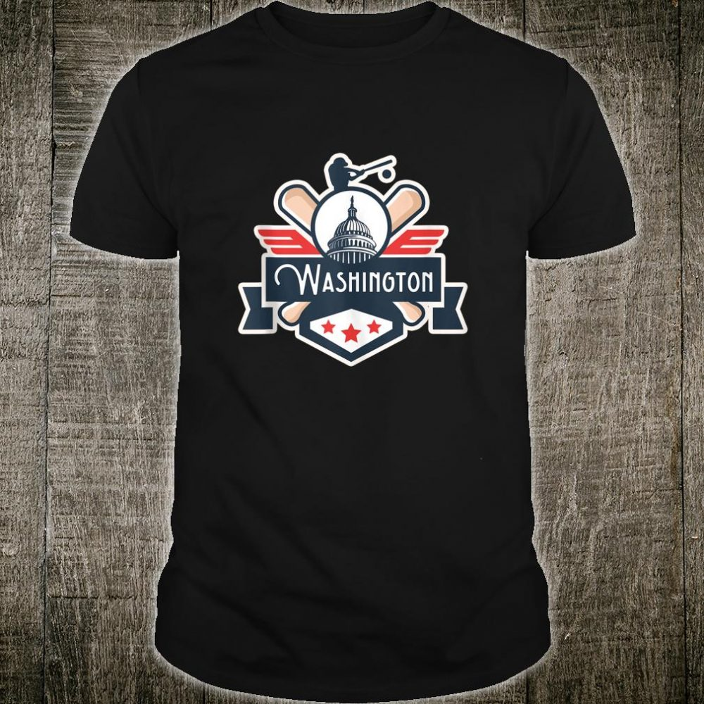 Washington DC Baseball Championship Shirt
