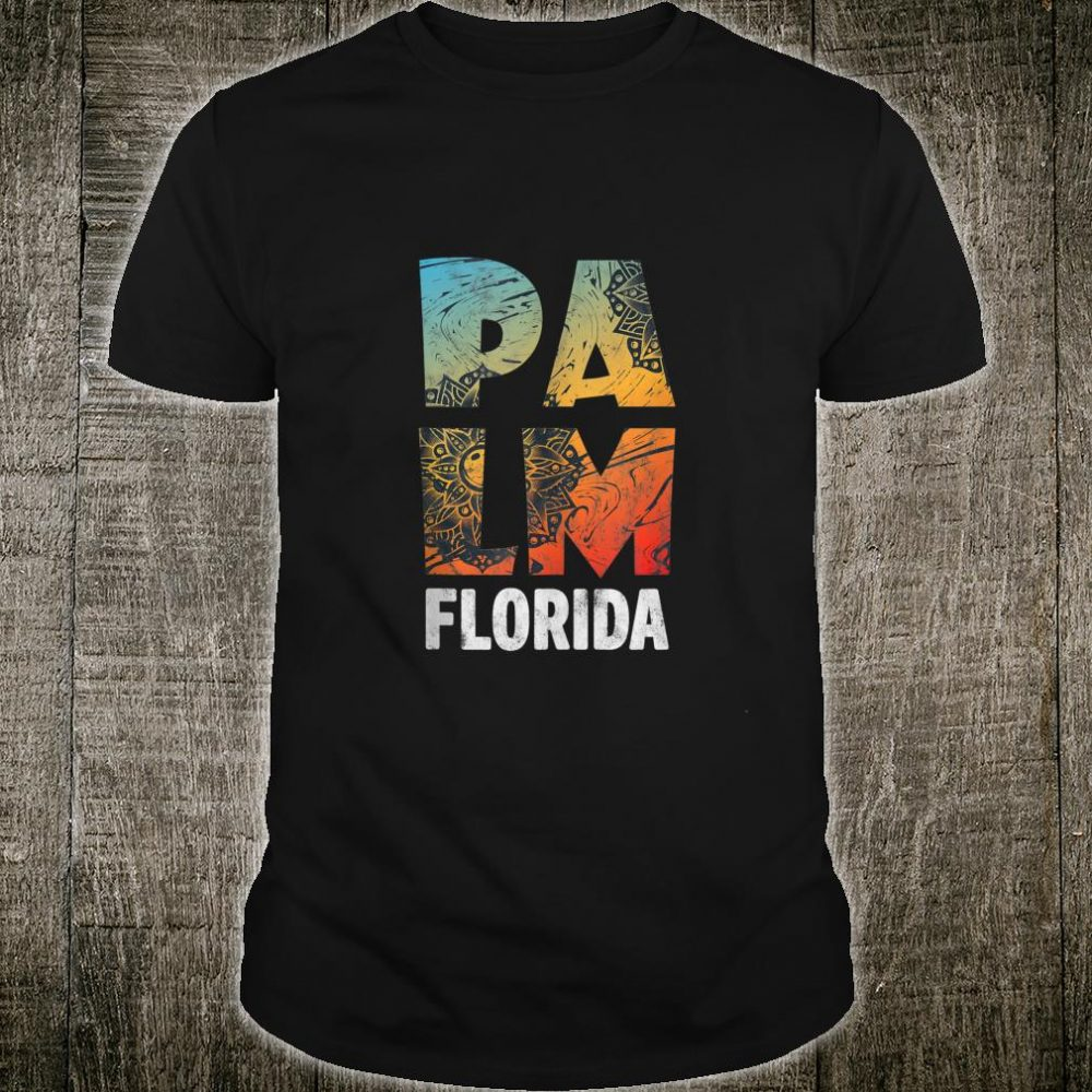 West Palm Beach Florida Summer Beach Retro Souvenir Shirt