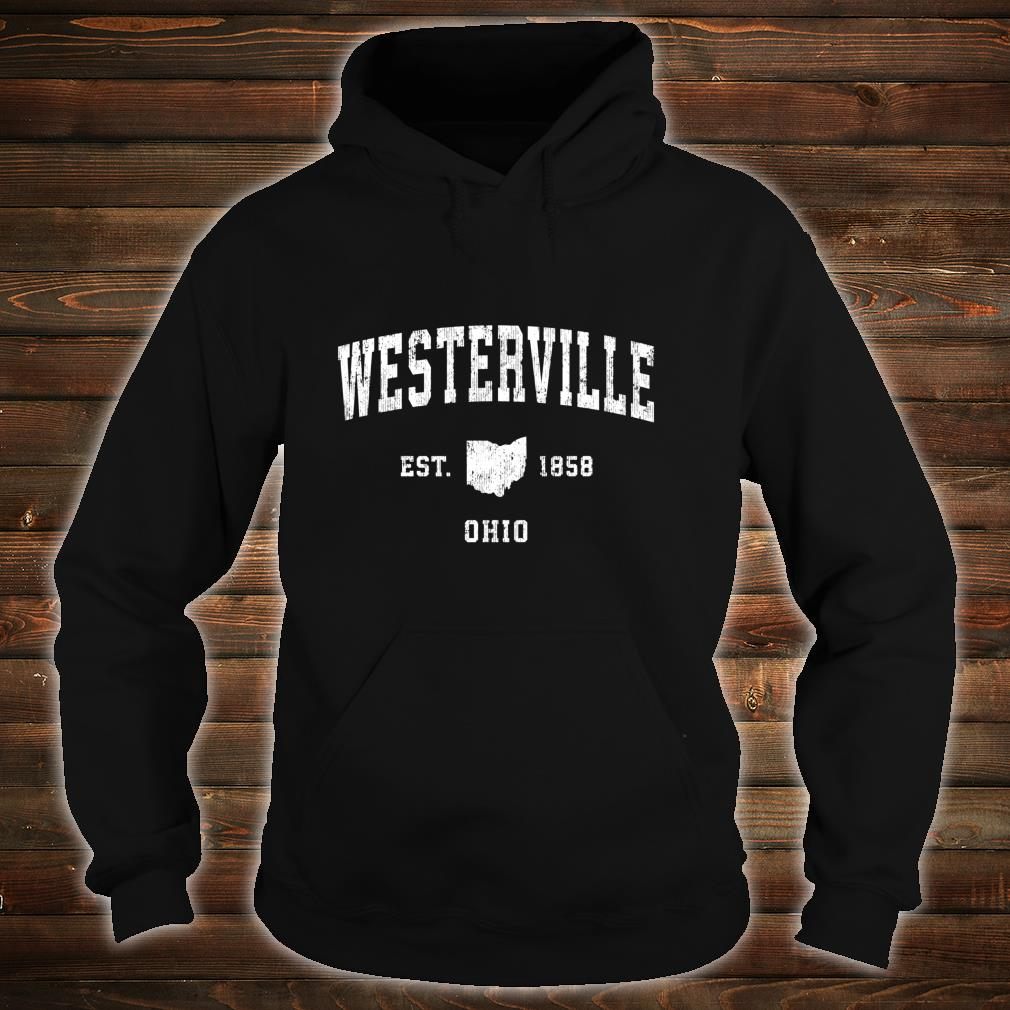 Westerville Ohio OH Vintage Athletic Sports Design Shirt hoodie