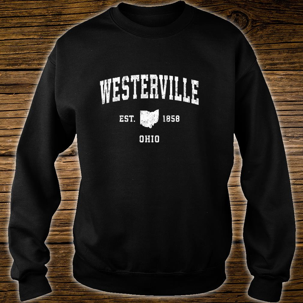 Westerville Ohio OH Vintage Athletic Sports Design Shirt sweater