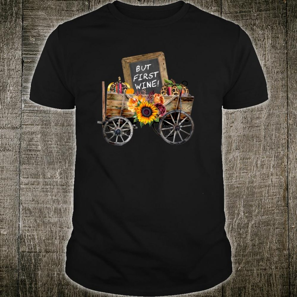 Wine Clothing Wine Sign in Country Wagon Shirt