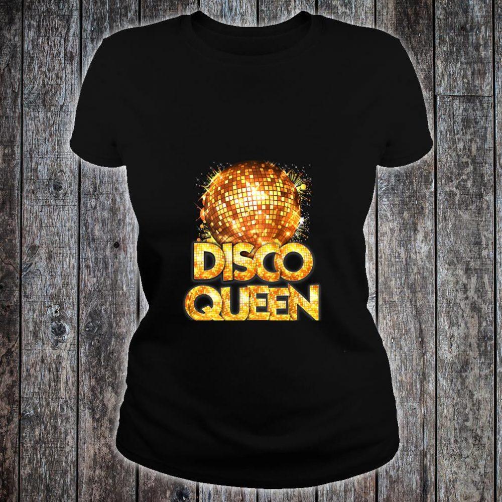 Womens Disco Queen 70\u0027s Disco Themed Vintage Seventies Costume Shirt