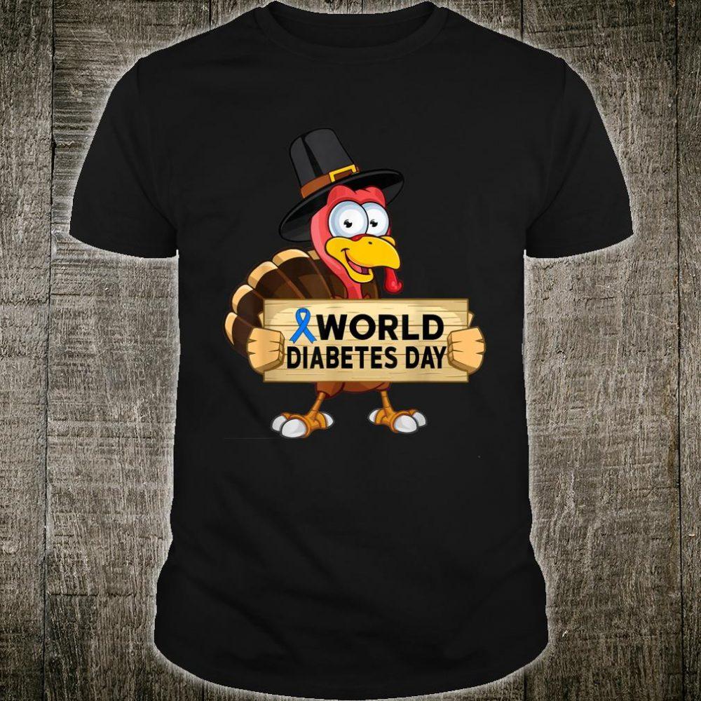 World Diabetes Day, Thanksgiving Turkey Shirt