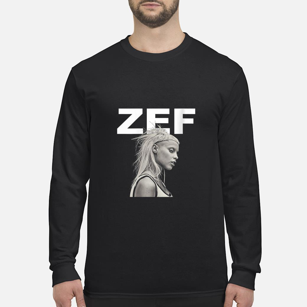 Zef Lifestyle Die Cool No Regrets Shirt long sleeved