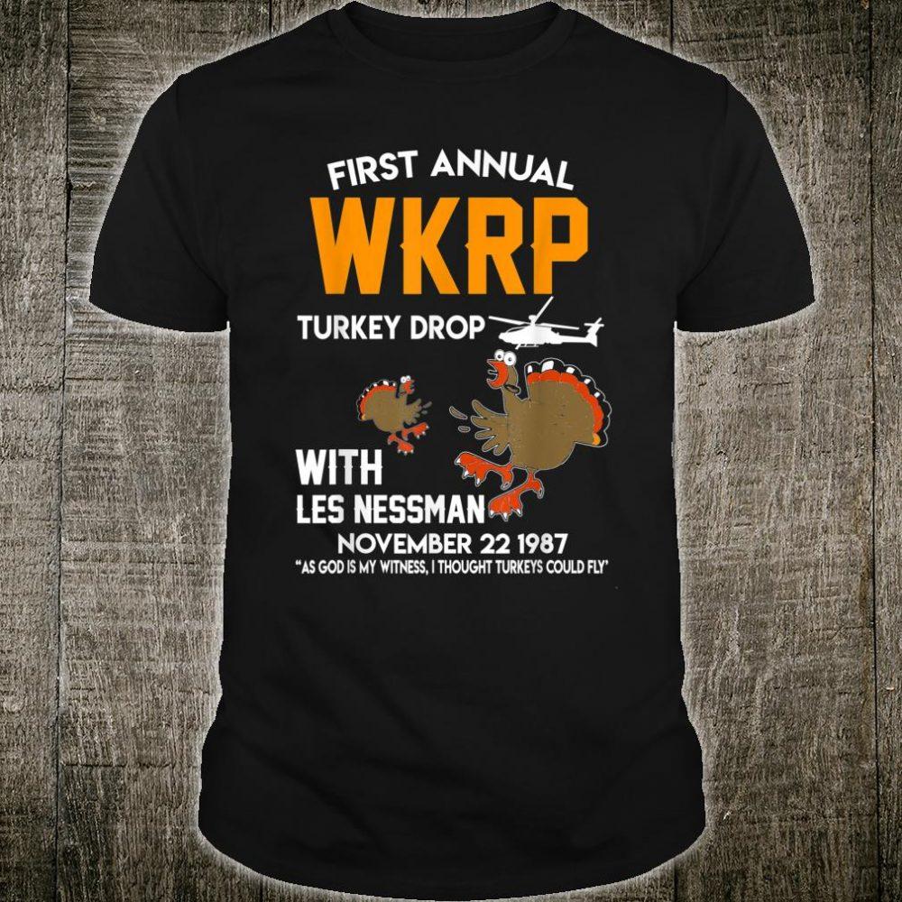 wkrpturkeydrop Thanksgiving Shirt